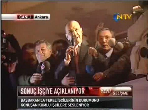 'TEKEL ZİRVESİ'NİN PERDE ARKASI