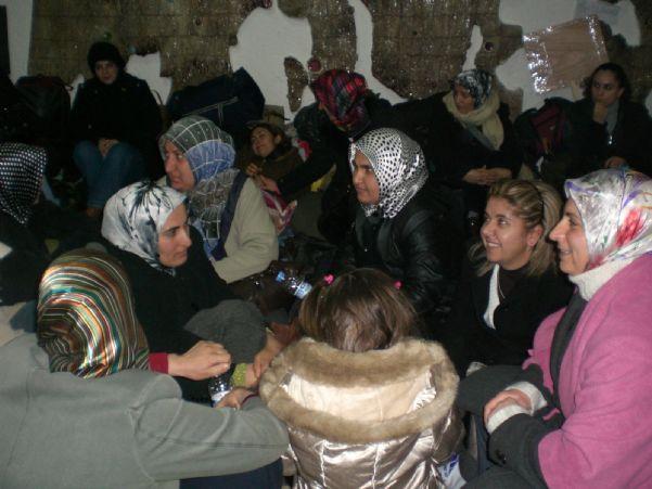 TEKEL İŞÇİLERİ OTURMA EYLEMİNDE 15-18/01/2010