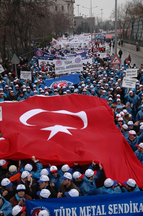 EKMEK, BARIŞ ÖZGÜRLÜK İÇİN DEMOKRASİ VE HAKLAR MİTİNGİ 17/01/2010