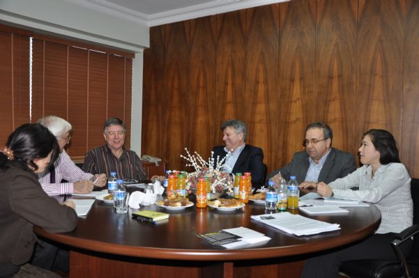 IUF GENEL SEKRETERİ RON OSWALD TEKGIDA-İŞ'İ ZİYARET ETTİ