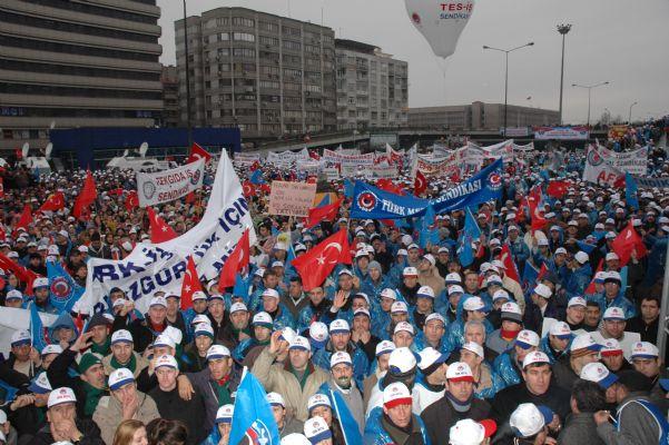 EKMEK, BARIŞ ÖZGÜRLÜK İÇİN DEMOKRASİ VE HAKLAR MİTİNGİ 18/01/2010