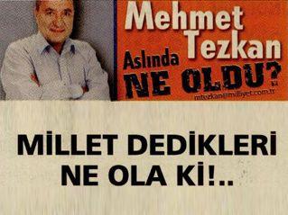 MİLLET DEDİKLERİ NE OLA Kİ!..