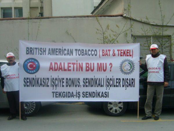 BAT Genel Müdürlük Maslak Basın Açıklaması 15.04.2011
