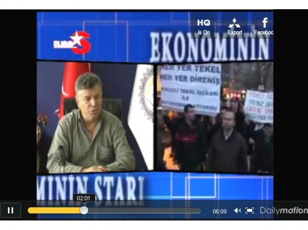 GENEL BAŞKANIMIZ 07.08.2010 EUROSTAR TV RÖPÖRTAJI