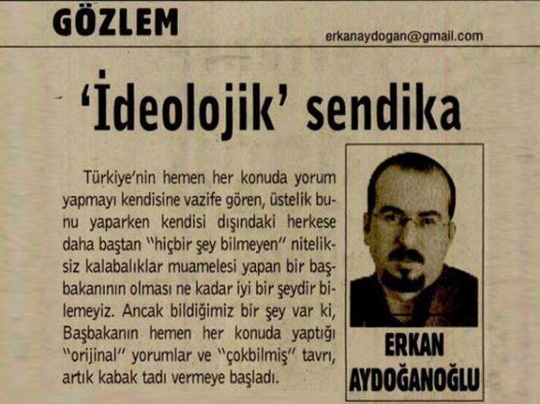 'İDEOLOJİK' SENDİKA