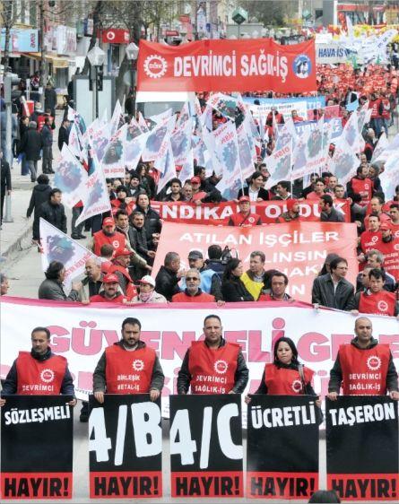 'İŞ GÜVENCESİ İSTİYORUZ'