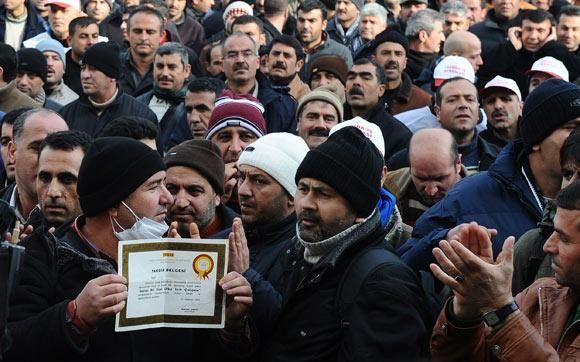 15/12/2009 TEKEL EYLEMİ AKP GENEL MERKEZ ÖNÜ ANKARA
