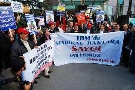 IBM TÜRK ÇALIŞANLARI 27 EYLÜL'DE GREVE GİDİYOR