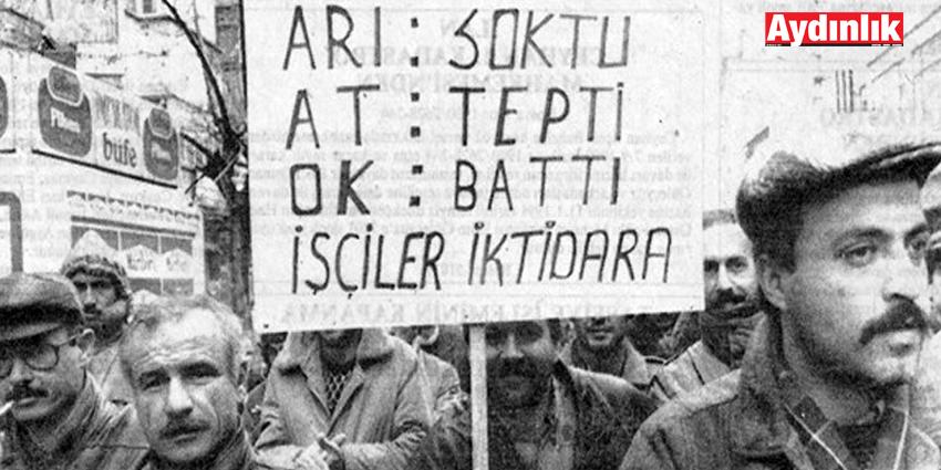 İŞÇİ SINIFININ ALTERNATİF ARAYIŞI