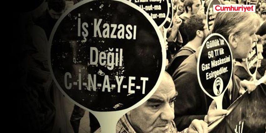 İŞ KAZALARI DURMUYOR