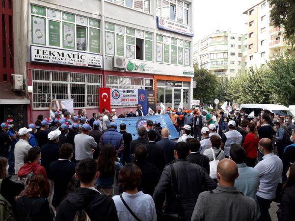 İSTİHDAM PAKETİNİ PROTESTO ETTİK