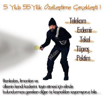 AKP TİPİ ÖZELLEŞTİRME
