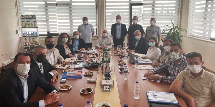 AROMA MEYVE SULARI'NDA TOPLU İŞ SÖZLEŞMESİ İMZALANDI