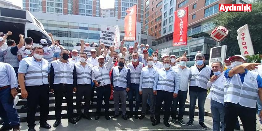 EMEKÇİLERİN SESİ İSTANBUL'DAN YÜKSELDİ: 'HUKUK TANIMAZ İŞVERENİ SON DEFA UYARIYORUZ!'